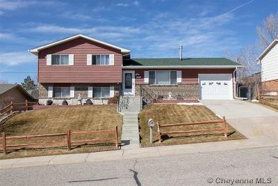 Cheyenne WY Single Family Home For Sale: $223,500