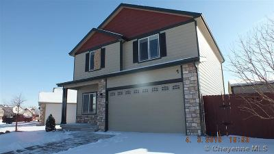 Cheyenne WY Single Family Home Temp Active: $212,000