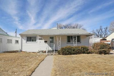 Cheyenne WY Single Family Home Temp Active: $159,800