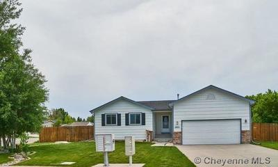 Cheyenne WY Single Family Home Temp Active: $325,000