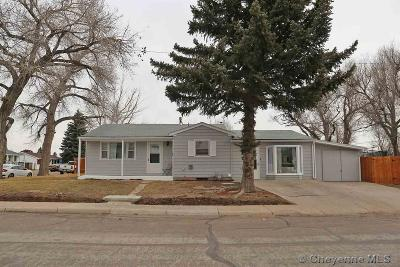 Cheyenne Single Family Home Temp Active: 1601 Fremont Ave