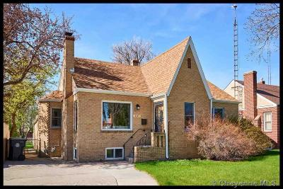 Cheyenne  Single Family Home For Sale: 107 W 4th Ave