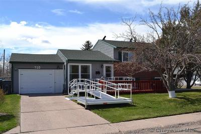 Cheyenne WY Single Family Home For Sale: $227,500