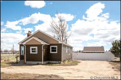 Cheyenne WY Single Family Home Temp Active: $199,900