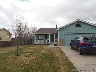 Cheyenne WY Single Family Home Temp Active: $310,000