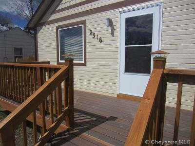 Cheyenne WY Single Family Home For Sale: $149,000