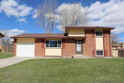 Cheyenne WY Single Family Home Temp Active: $230,000