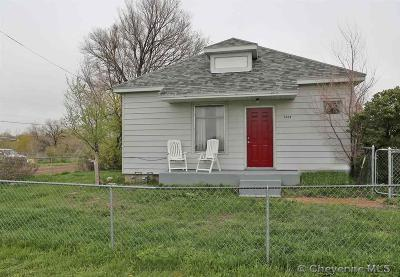 Cheyenne WY Single Family Home For Sale: $160,000
