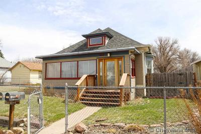 Cheyenne WY Single Family Home Temp Active: $269,000