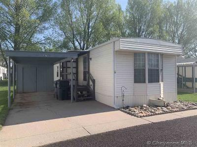 Cheyenne Mobile Home For Sale: 3901 Ridge Rd #27