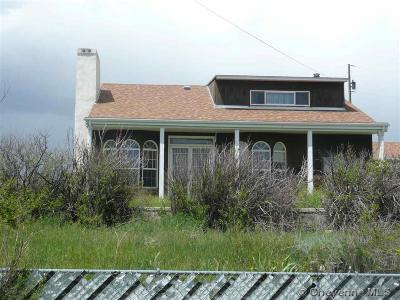 Cheyenne Single Family Home For Sale: 414 W Allison Rd