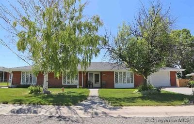 Pine Bluffs Single Family Home For Sale: 410 Maple St