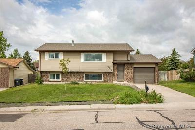 Cheyenne WY Single Family Home For Sale: $262,900