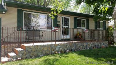 Cheyenne Single Family Home For Sale: 4115 E 7th St