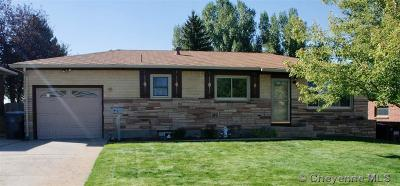 Cheyenne WY Single Family Home Temp Active: $239,000