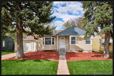 Cheyenne WY Single Family Home Temp Active: $235,900