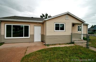 Pine Bluffs Single Family Home For Sale: 301 W 5th St