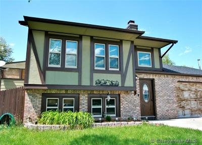 Cheyenne WY Single Family Home For Sale: $299,000