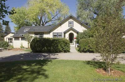 Laramie Single Family Home For Sale: 700 S 22nd St