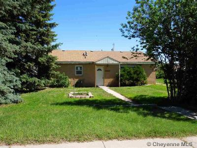 Cheyenne Single Family Home For Sale: 3810 Laramie St
