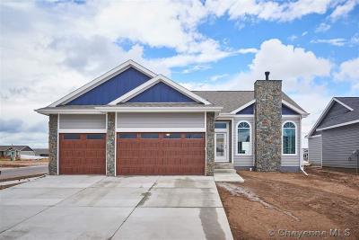Cheyenne Single Family Home For Sale: LOT 52 Circle Heart Lane