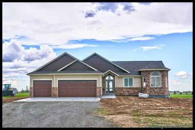 Saddle Ridge Single Family Home For Sale: LOT 8 Blue Feather Tr