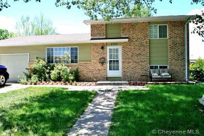 Cheyenne  Single Family Home For Sale: 4500 Boysen Ave