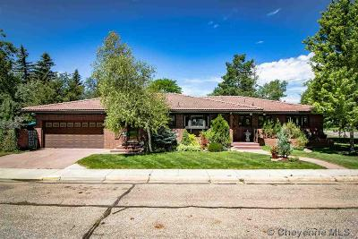Cheyenne Single Family Home For Sale: 301 W 5th Ave