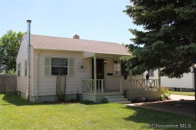 Cheyenne WY Single Family Home For Sale: $219,500