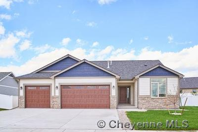 Cheyenne Single Family Home For Sale: 3817 Red Feather Tr