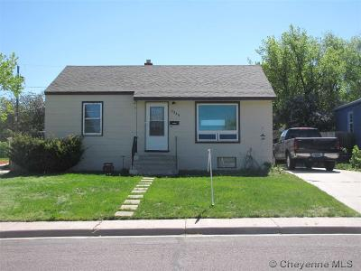 Cheyenne Single Family Home For Sale: 3349 Alexander Ave