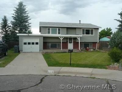 Cheyenne WY Single Family Home Temp Active: $240,000
