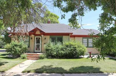 Cheyenne WY Single Family Home For Sale: $255,000
