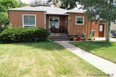 Cheyenne Single Family Home For Sale: 1831 E 21st St