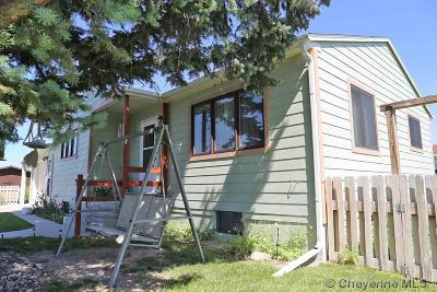 Pine Bluffs Single Family Home Temp Active: 411 E 8th St