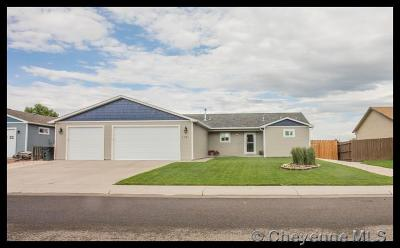 Cheyenne WY Single Family Home Temp Active: $315,000