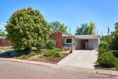 Cheyenne WY Single Family Home Temp Active: $264,900