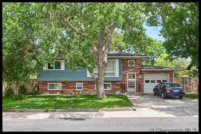 Cheyenne WY Single Family Home Temp Active: $258,000