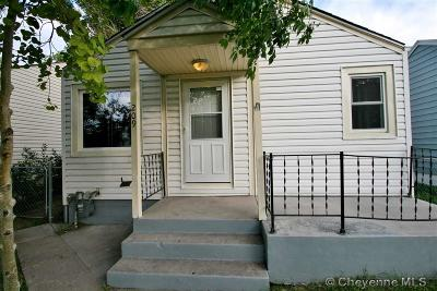 Cheyenne Single Family Home For Sale: 209 E 5th St