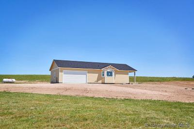 Cheyenne Single Family Home Temp Active: Tract 9 Chuck Wagon Rd