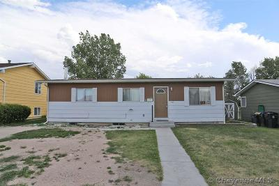 Cheyenne Single Family Home Temp Active: 1513 W Allison Rd
