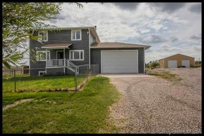 Cheyenne Single Family Home For Sale: 7406 Grace Rd
