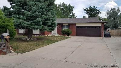 Cheyenne  Single Family Home For Sale: 1521 Skyview Cir