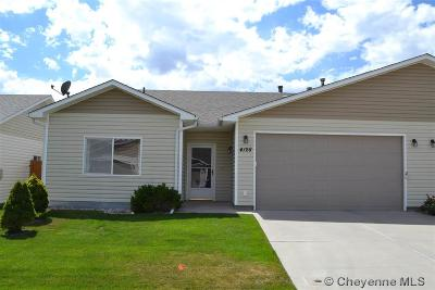 Cheyenne Condo/Townhouse For Sale: 4128 Gem Trl