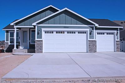 Cheyenne Single Family Home For Sale: 3500 Thomas Rd