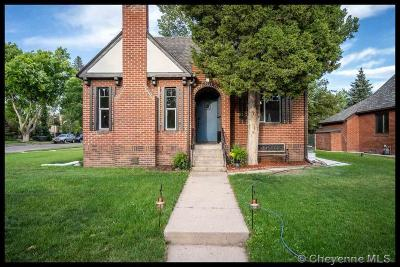 Cheyenne Single Family Home For Sale: 3521 Capitol Ave