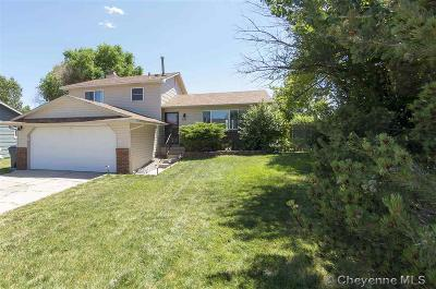 Cheyenne  Single Family Home For Sale: 661 Lafayette Blvd