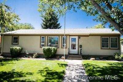 Cheyenne  Single Family Home For Sale: 3534 Boston Rd