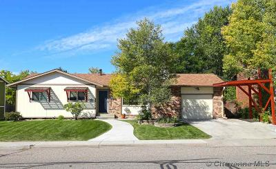 Cheyenne  Single Family Home For Sale: 5020 Point Bluff