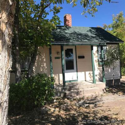 Cheyenne WY Single Family Home For Sale: $149,900